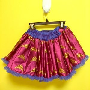 Disney tutu couture skirt girl 7/8 crowns